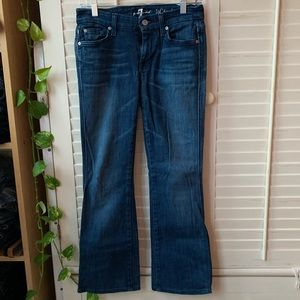 Seven for All Mankind dark jeans, size 27